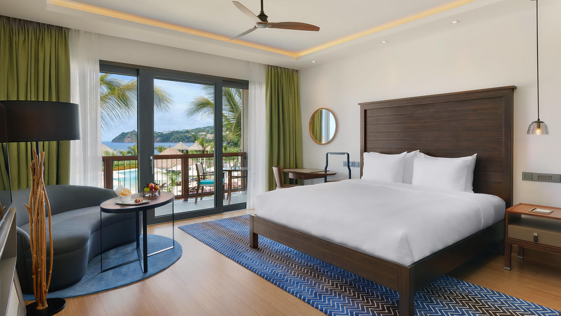 Deluxe Ocean View Room - King Bed