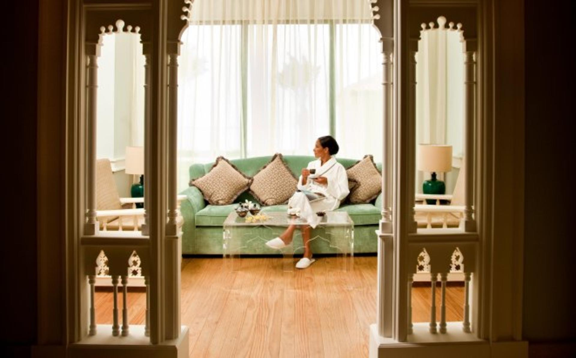 Djibouti Palace Kempinski_A Moment of relaxation with our jetlag and anti stress treatment