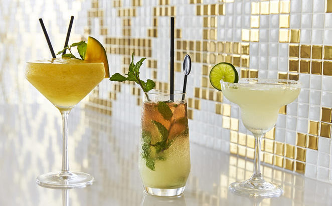 Cocktail in unserer Bar Constante Master-Kurs
