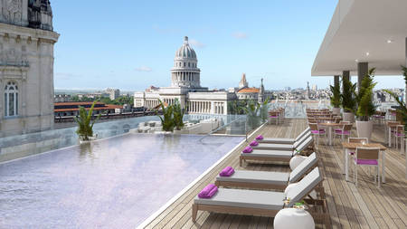 Kempinski La Habana_Rooftop Swimming pool