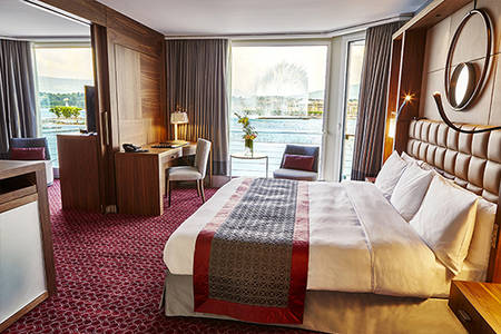 Deluxe Alsterblick Junior Suite neues Dekor2016