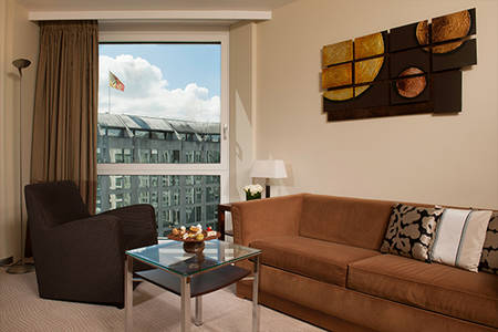 Junior Suite Patio neues Dekor2016