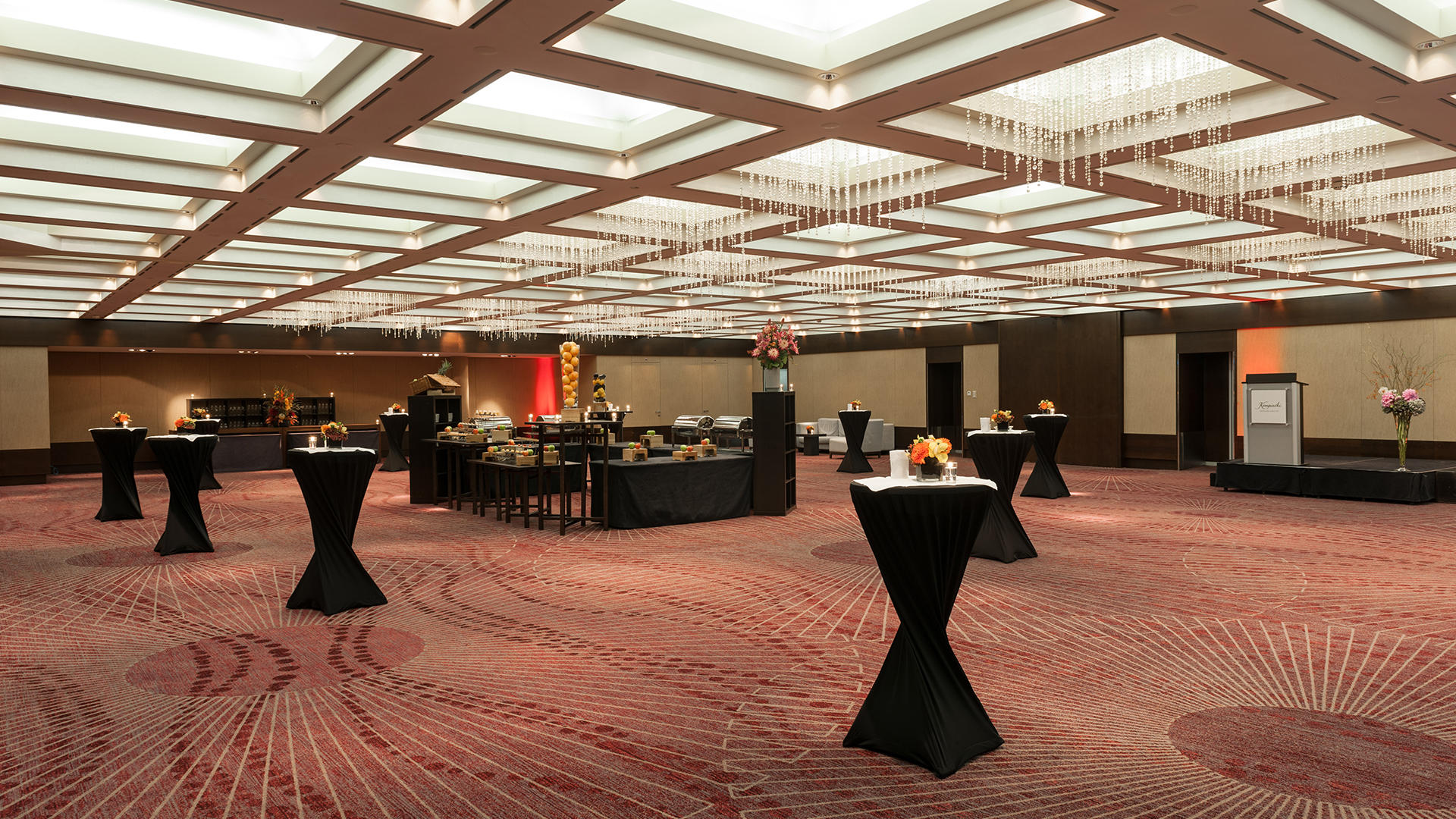 Ballroom Venue at Grand Hotel Kempinski Geneva