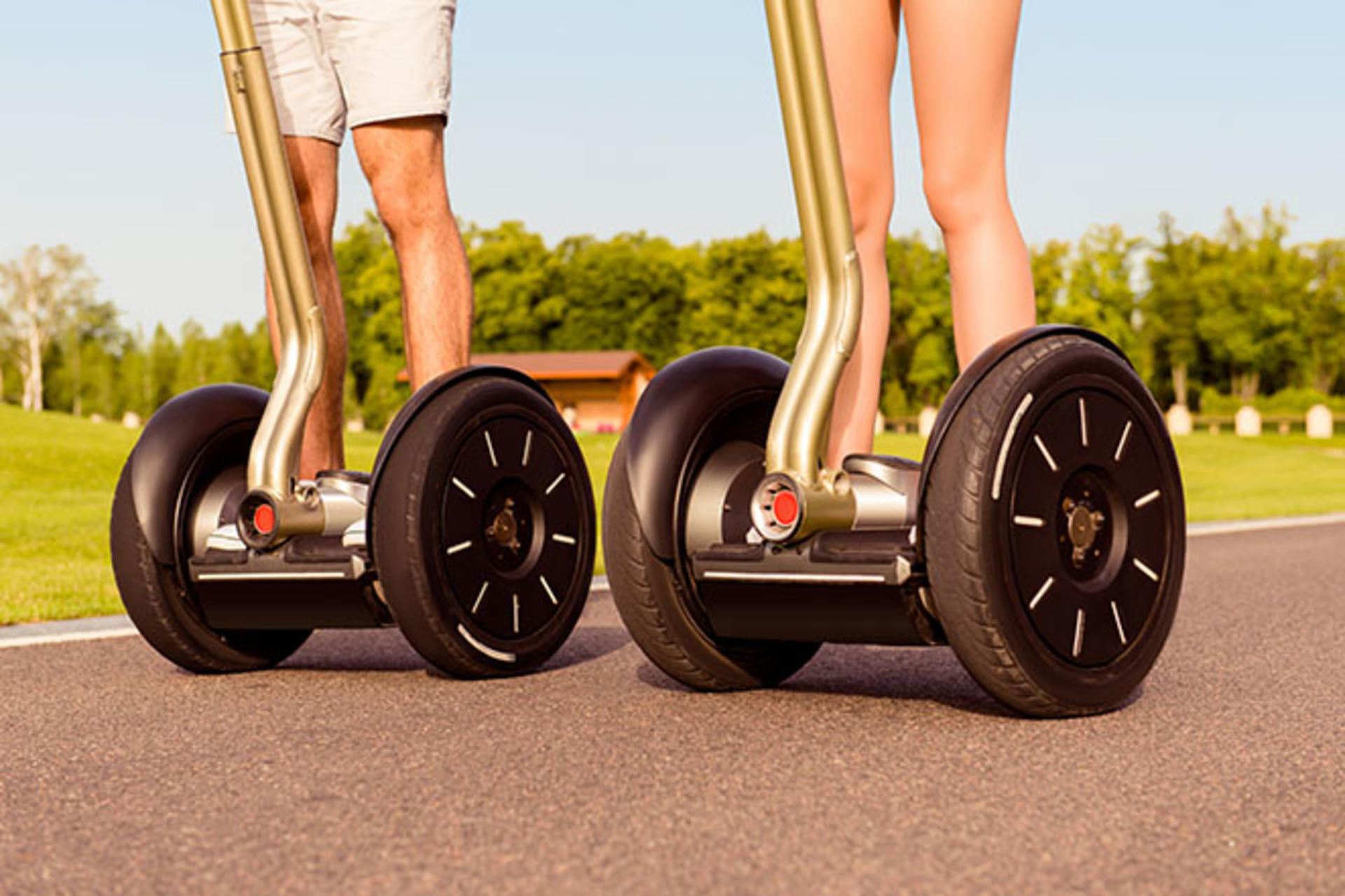 Segway ride - 2 people