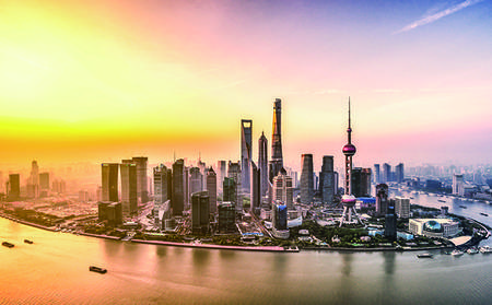 Discovery-Bus-Sightseeing-Tour durch Shanghai
