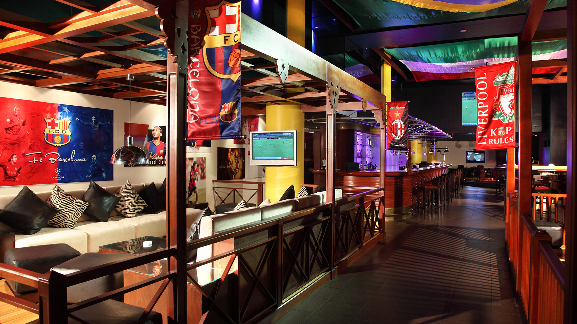 KempinskiAmman Kick Sports Bar