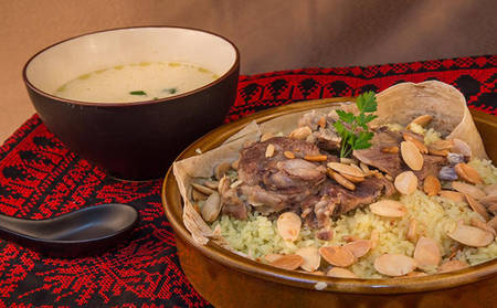 The National Dish of Jordan - The  Mansaf