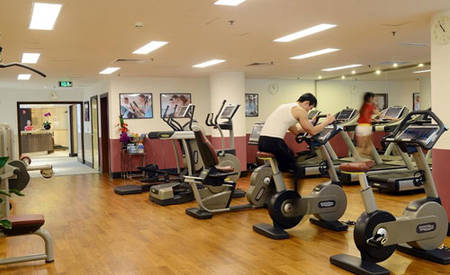 KI _ Hotel _ Beijing _ Lufthansa _ Center _ fitness-studio
