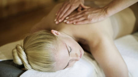 Tension-releasing massage