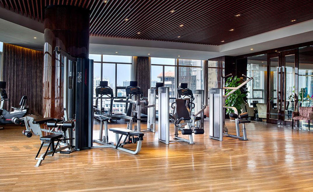 KI_Hotel_Changsha_fitness — — 中心