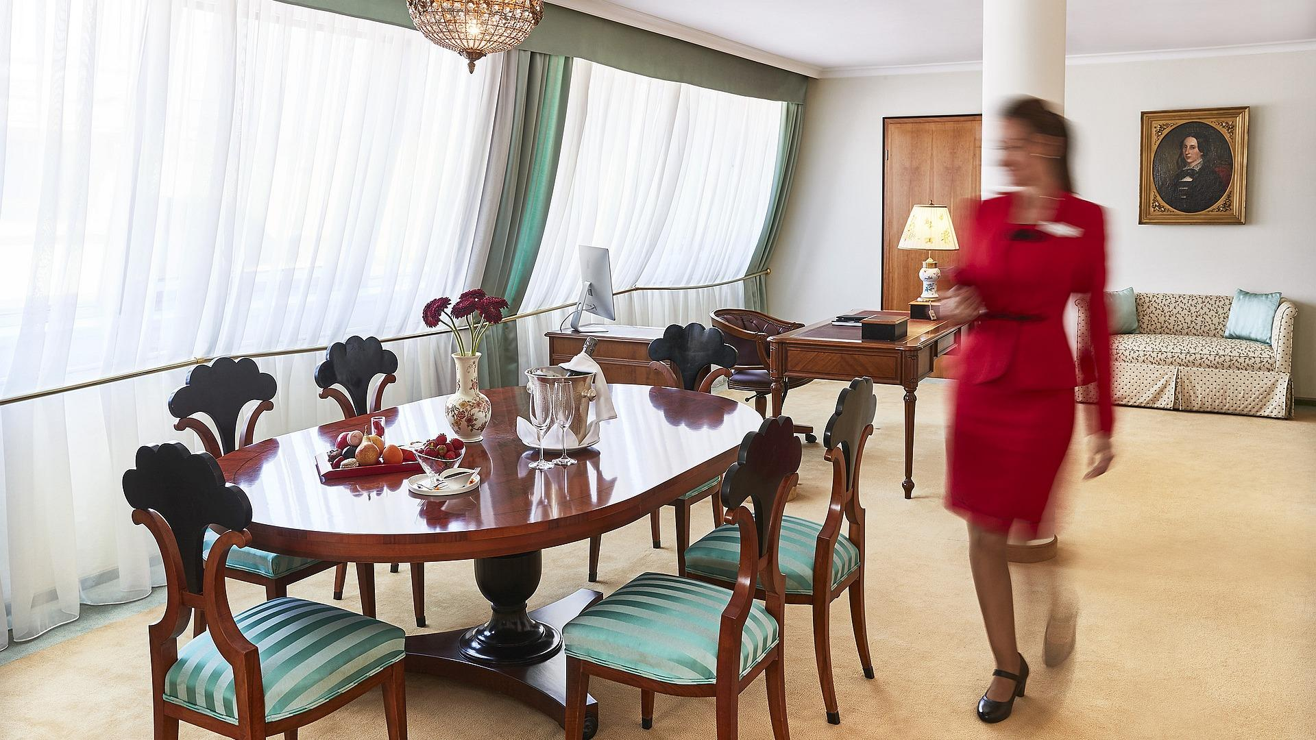 Corvinus Suite Collection - Herend Suite | Kempinski Hotel Corvinus Budapest