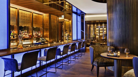 Blue Fox The Bar | Kempinski Hotel Corvinus Budapest