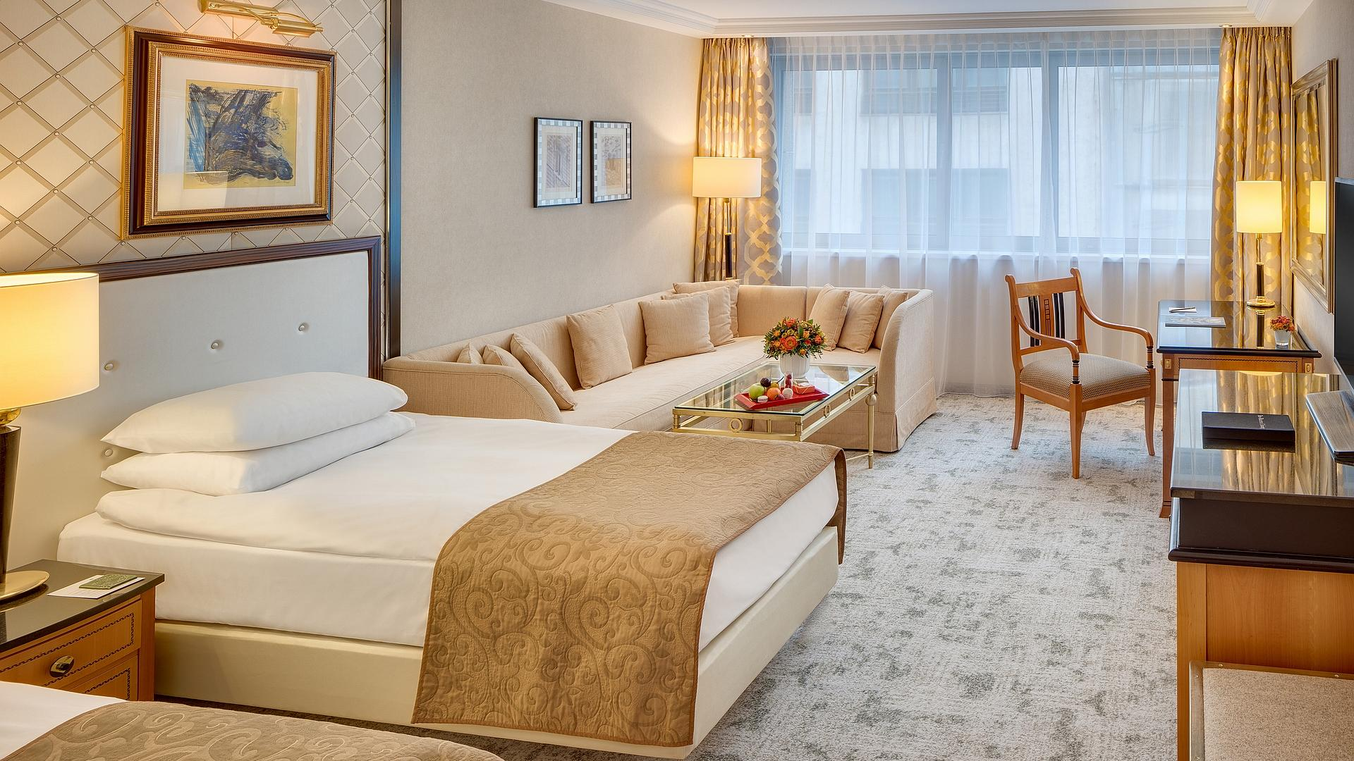 Premium Deluxe Room - Twin Beds | Kempinski Hotel Corvinus Budapest