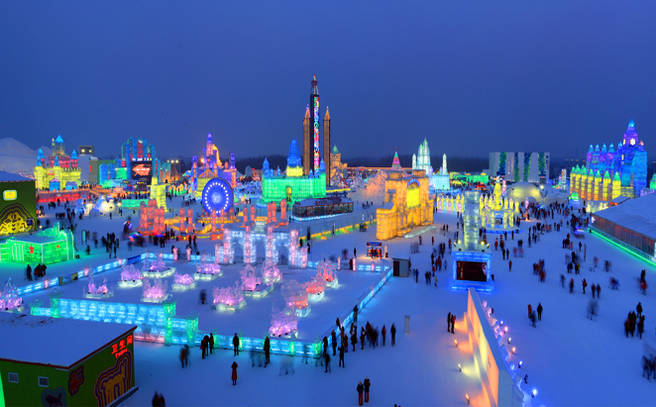 Image result for HARBIN ICE & SNOW WORLD
