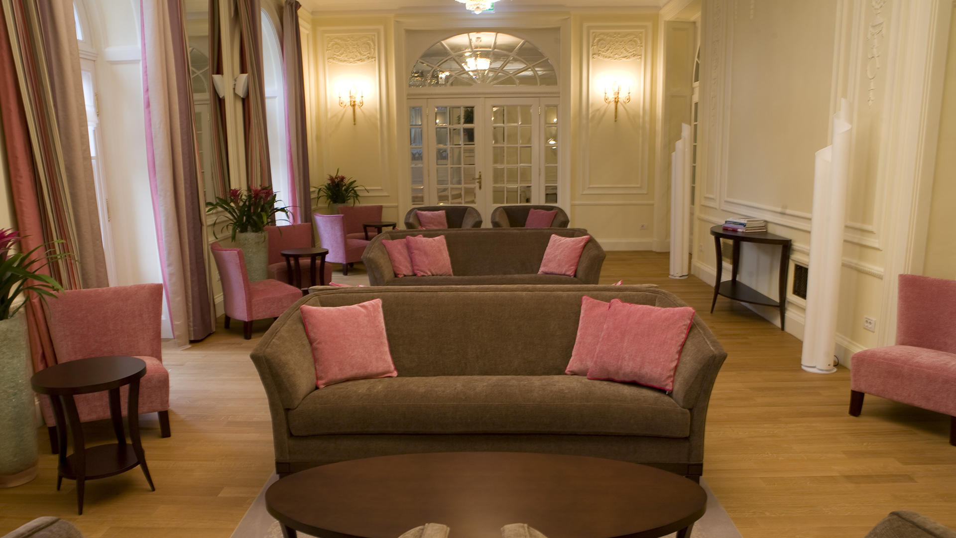 Ladies Salon hotel Kempinski Palace Portoroz