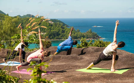 Yoga on the Hill