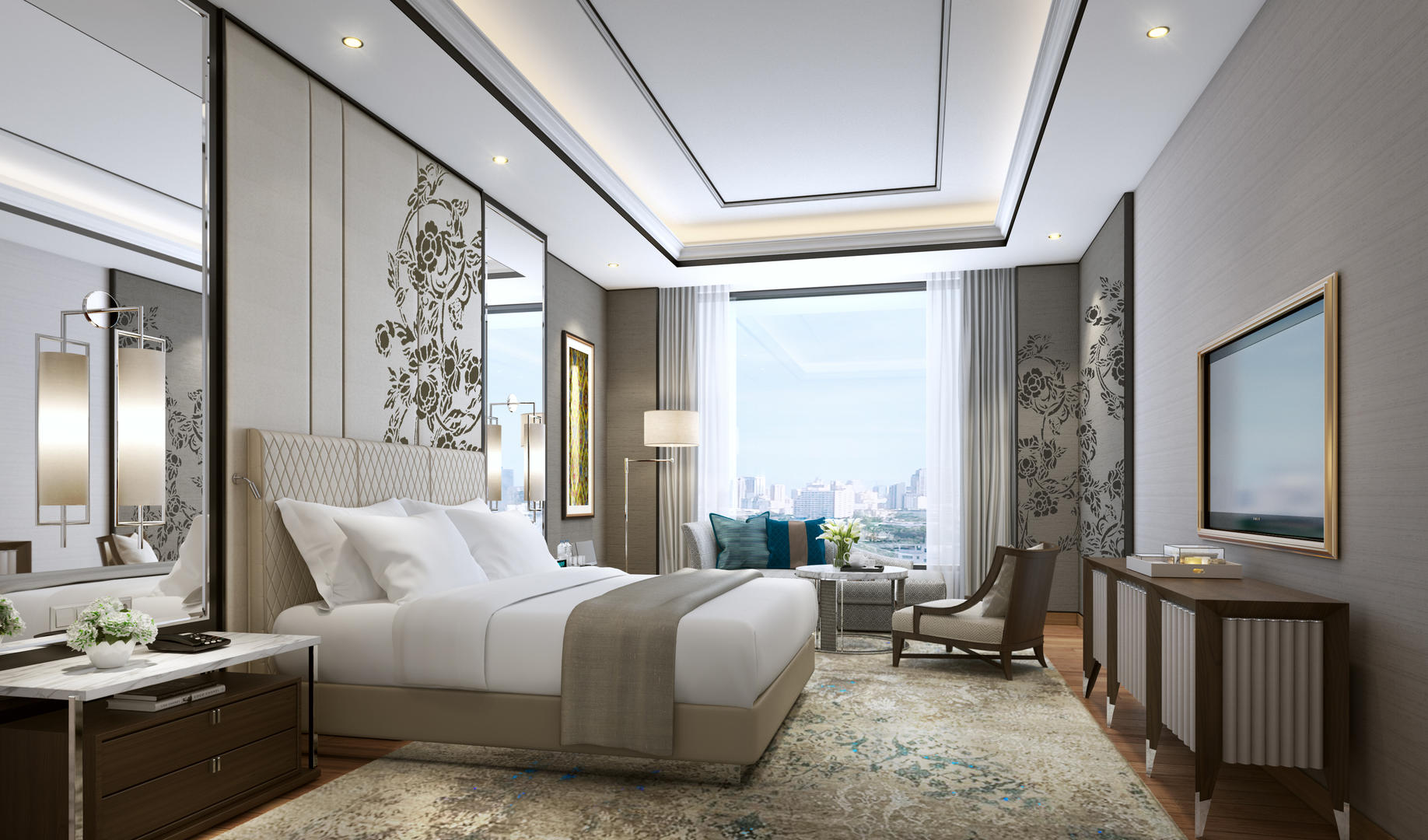 Grand Executive Suite Bedroom