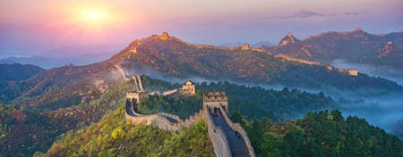 KI-Sunrise_Great-Wall-of-China