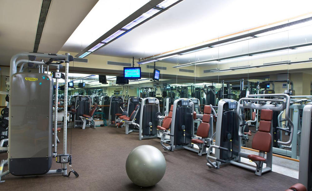 The _ Leela _ Palace _ Bengaluru _ Gym