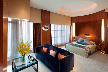 Marco _ Polo _ Shenzhen _ Marco _ Polo _ Suite _ with _ King _ Bed