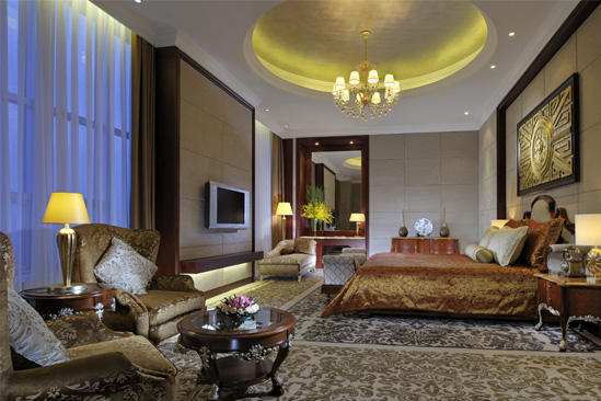 Marco _ Polo _ Shenzhen _ Presidential _ Suite _ with _ King _ Bed