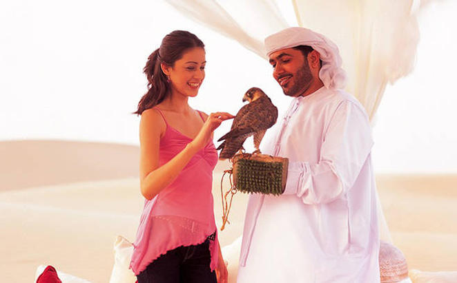 Falconry Experience with The Meydan Hotel