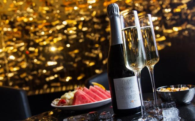 Experience Champagne for two at sky bar