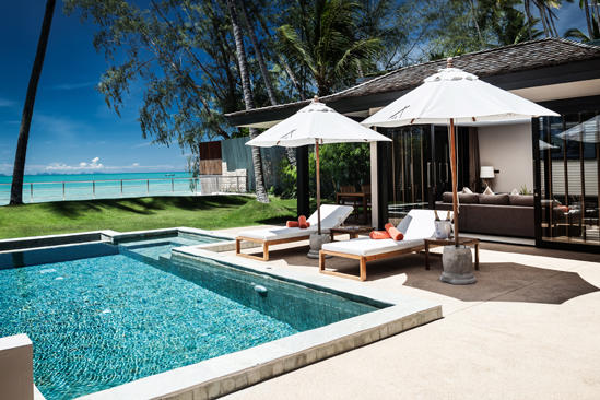 Nikki_Beach_Koh_Samui_Beachfront_2_Bedroom_Private_Pool_ 别墅