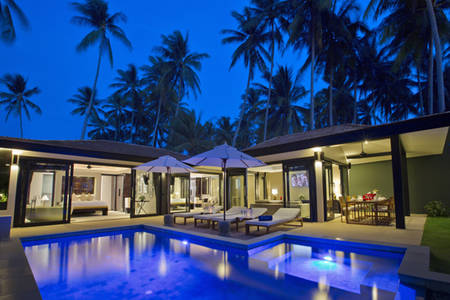 Nikki_Beach_Koh_Samui_Beachfront_2_Bedroom_Private_Pool_ 别墅 =3