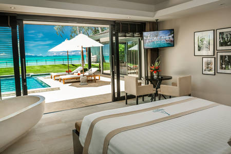 Nikki_Beach_Koh_Samui_Beachfront_2_Bedroom_Private_Pool_ 别墅 _4