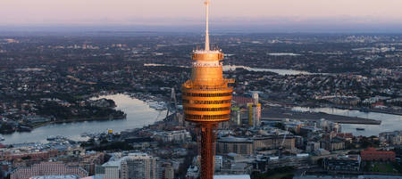 Sydney Tower Eye General Admission for 4 Adults