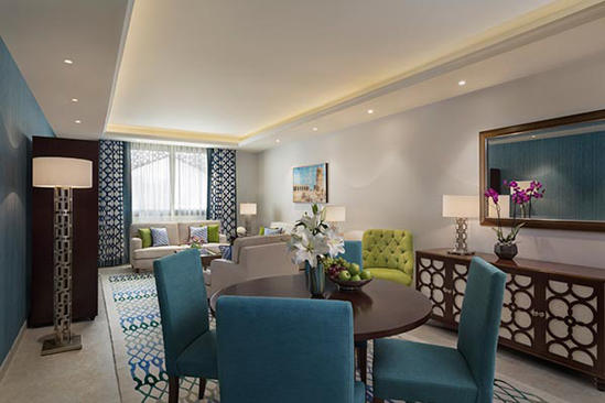 Al_Najada_Doha_Hotel_Apartments_by_Oaks_Two_Bedroom_Executive_Apartment_Living_Room