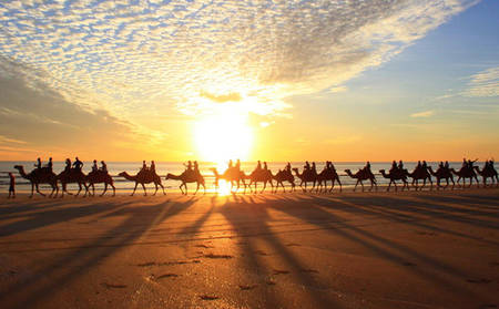 Sunset Cable Beach Camel Ride