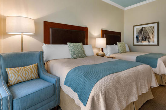 Omni_Amelia_Island_Plantation_ Resort _ luxus _Sunrise_ suite _With_2_Queen Betten