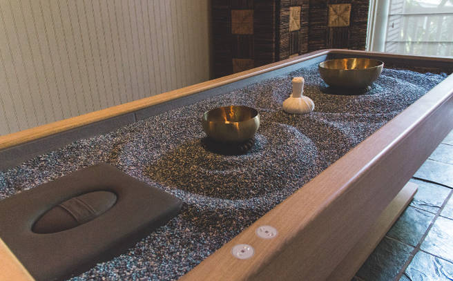 Quartz Sand Table Massage Omni Amelia Island Plantation