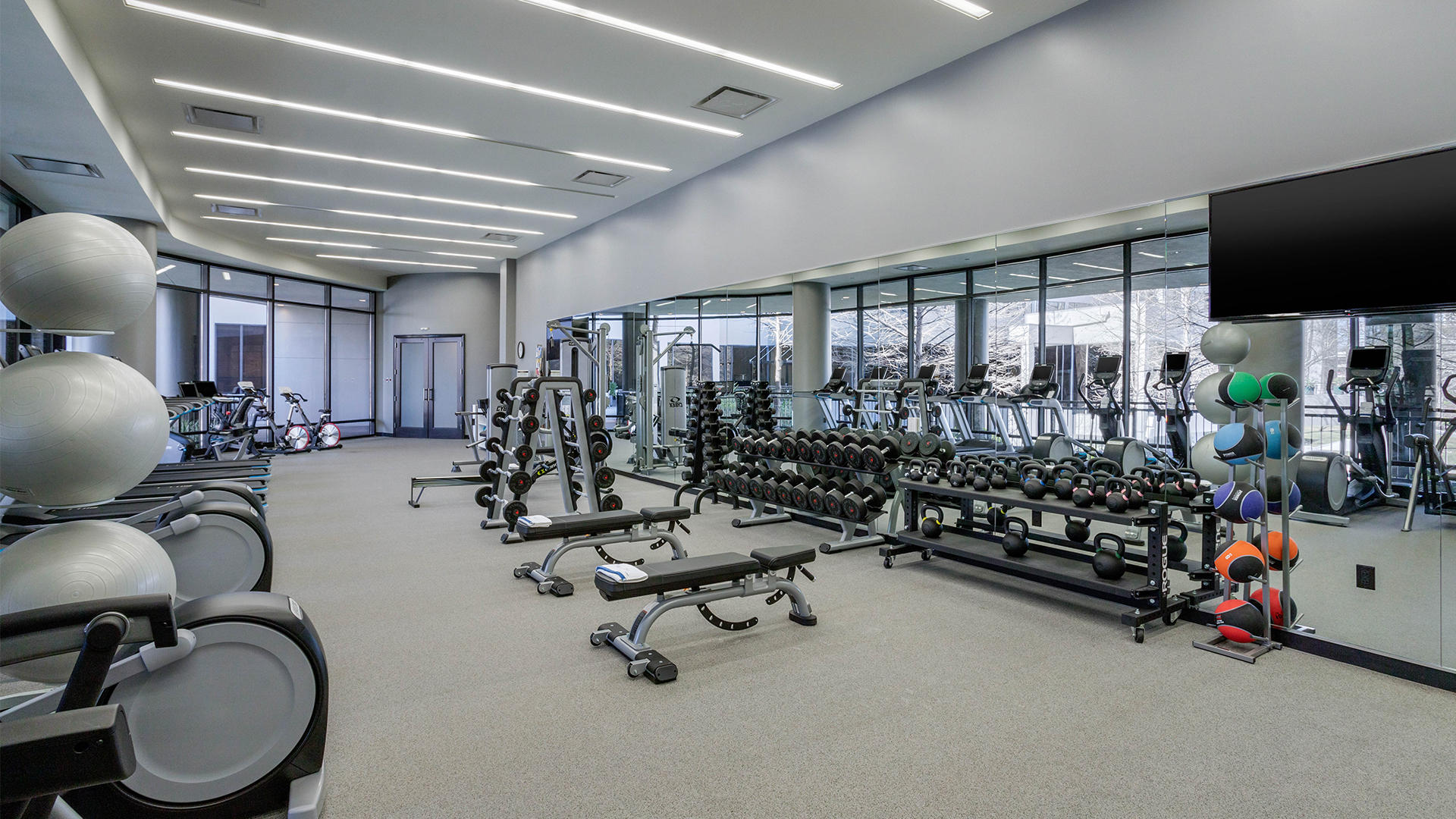Fitness Center at Omni Houston Hotel