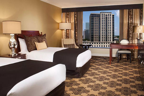 Omni _ Houston _ Classic _ Deluxe _ Room _ Two _ Queen _ Beds