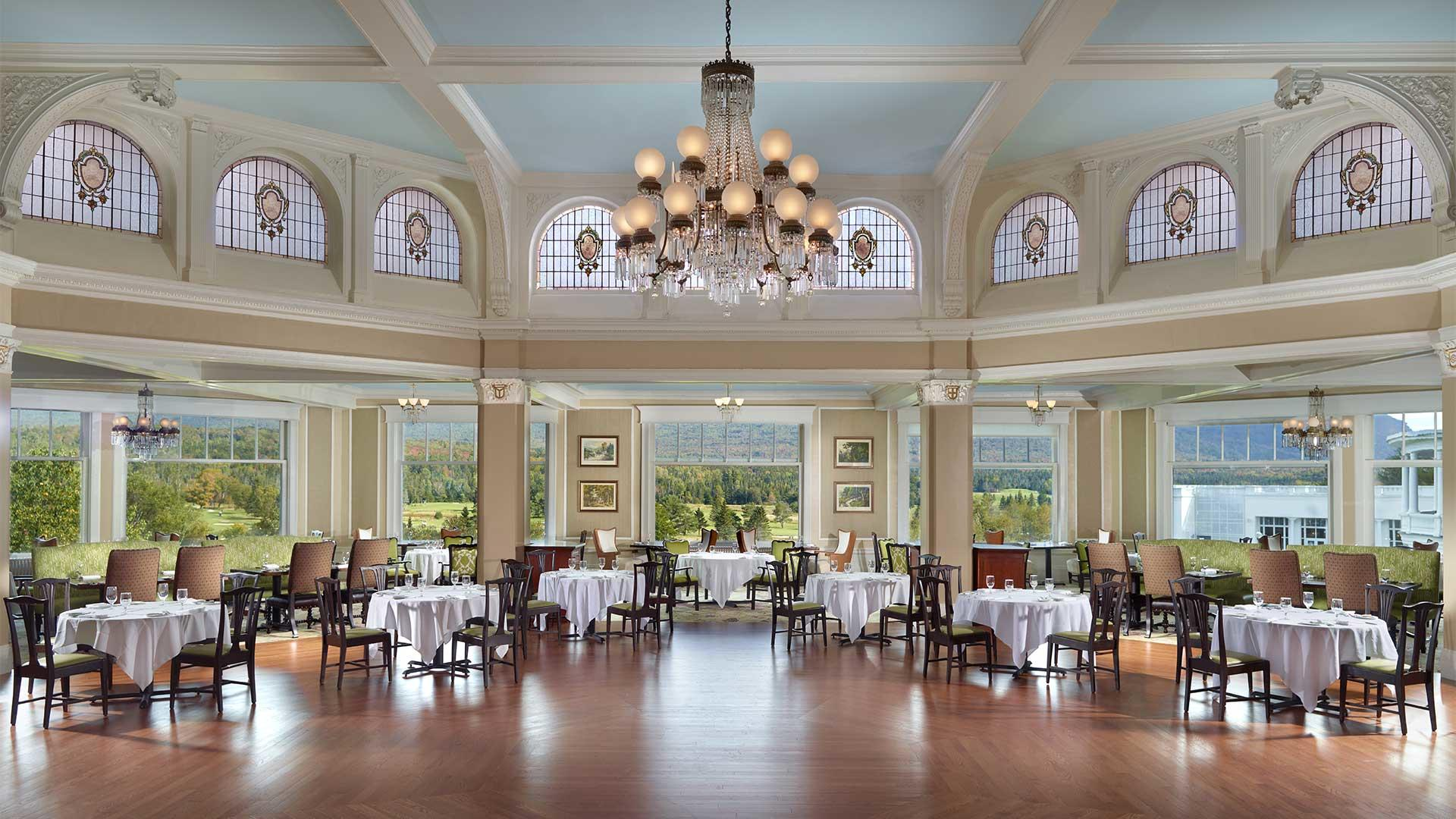 Main Dining Room Omni Mount Washington