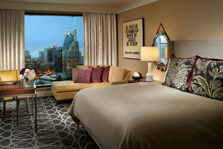 Omni _ Nashville _ Prime _ Room _ King _ Bed