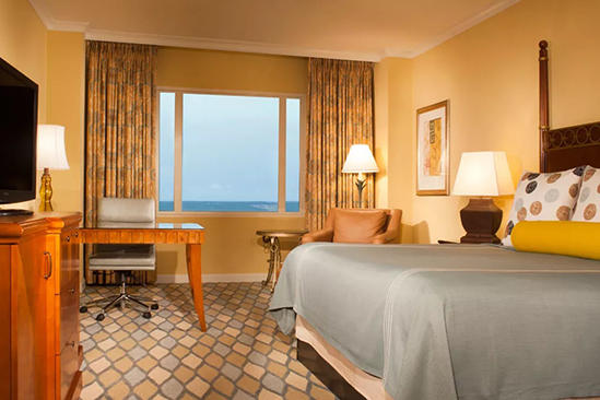Omni_ 奥兰多 _Resort_Classic_Deluxe_Room_King_Bed