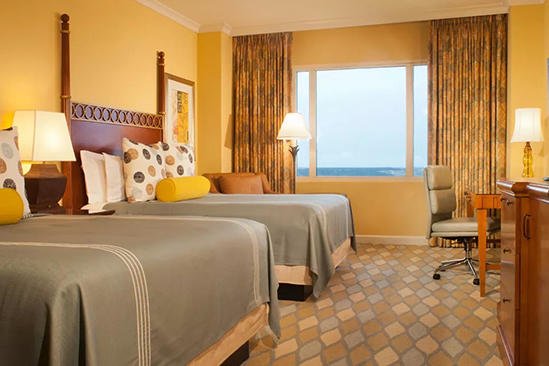Omni_ 奥兰多 _Resort_Spacious_Premier_Room_Queen_Beds