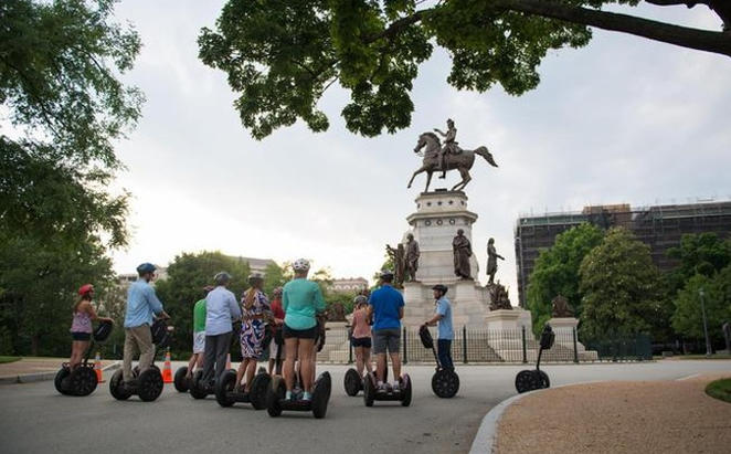 Segway-Tour durch RVA