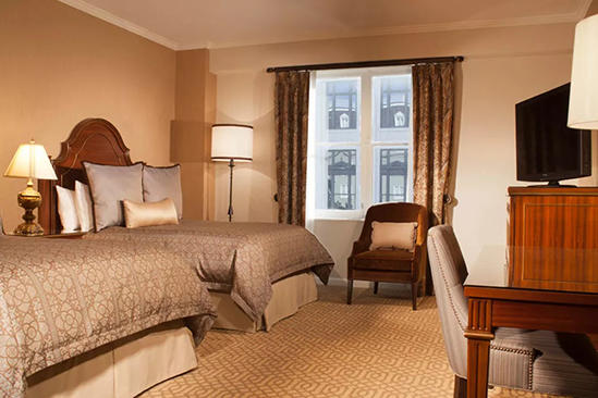 Omni _ Royal _ Orleans _ Spacious _ Premier _ Room _ Double _ Beds