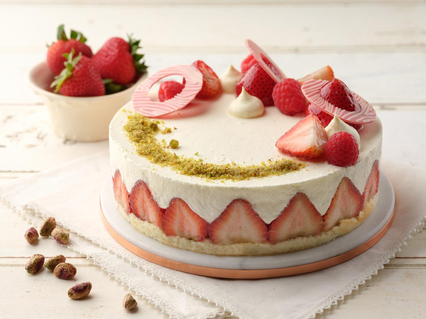 Enjoy Pan Pacific's Strawberry Pistachio Shortcake In The Comfort Of Your Home
