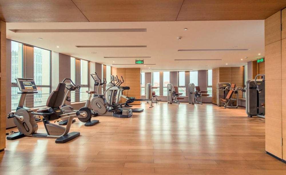 Pan _ Pacific _ Tianjin _ Gym