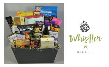 Pan Pacific Whistler Mountainside_Gift Basket