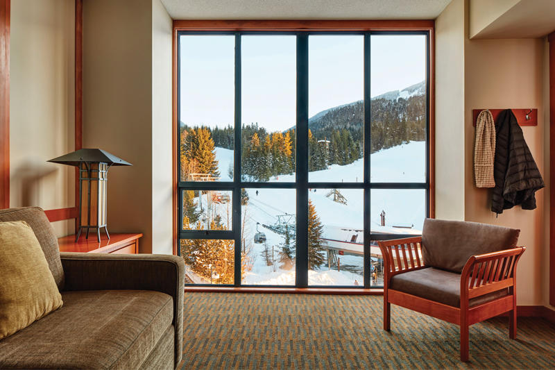 One Bedroom Mountain View Suite