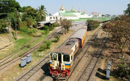 Pan Pacific Yangon_Railway