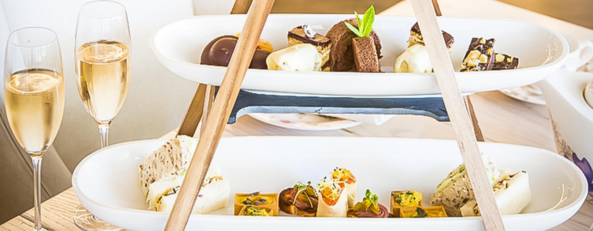 Indulge in ABODE's Sparkling High Tea in the comfort of your home