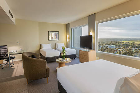 PARKROYAL_Melbourne_Airport_Family_Room